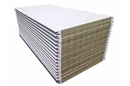 PU Sealing Rock Wool Sandwich Panel