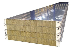 PU Foaming Rock Wool Sandwich Panel