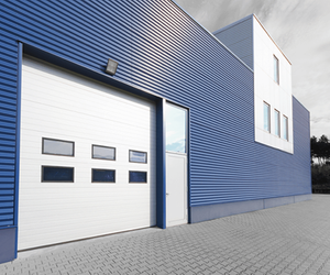 Security Sectional Industrial Door