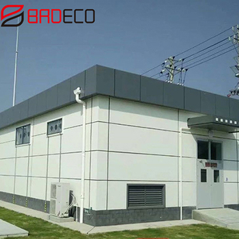 Application of PU panels in national substation construction process and precautions