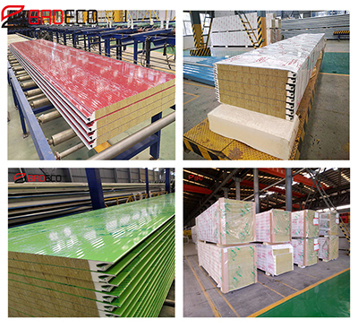 Product Introduction—PU Edge Sealing Rock Wool Sandwich Panel