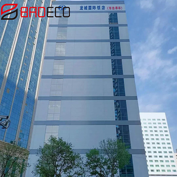 [Project Case] BRD PU Sandwich Panel Application Shanxi Post Building Intelligent Three-dimensional Garage Project