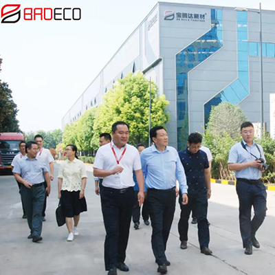 Chen Jinyu, chairman of Zhongyuan Reguarantee Group visited BRD