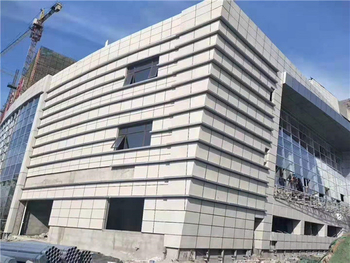 Exterior Wall Insulated Panels Boost Shangqiu People's Hospital